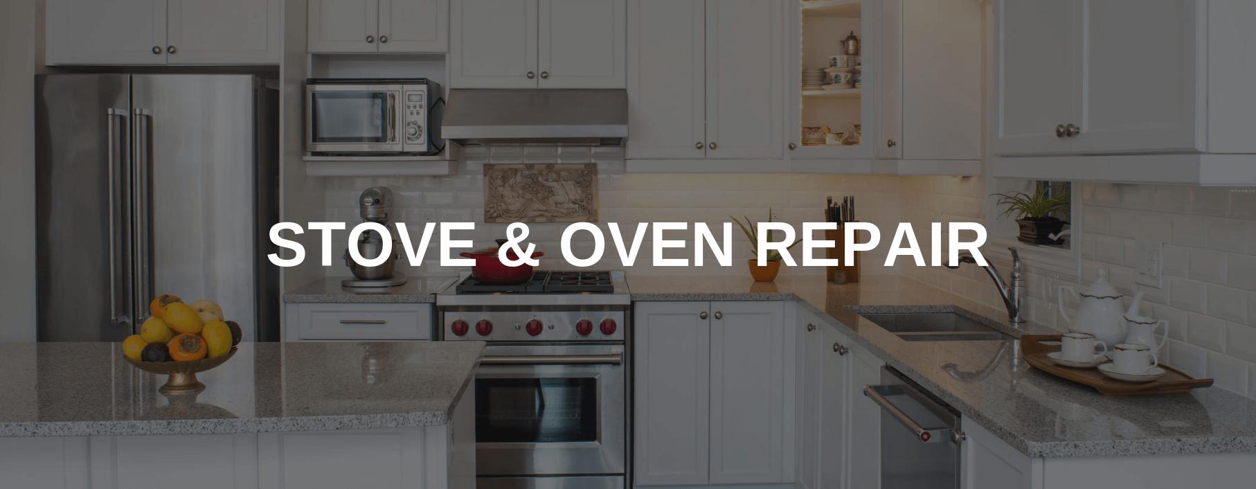 stove repair reston