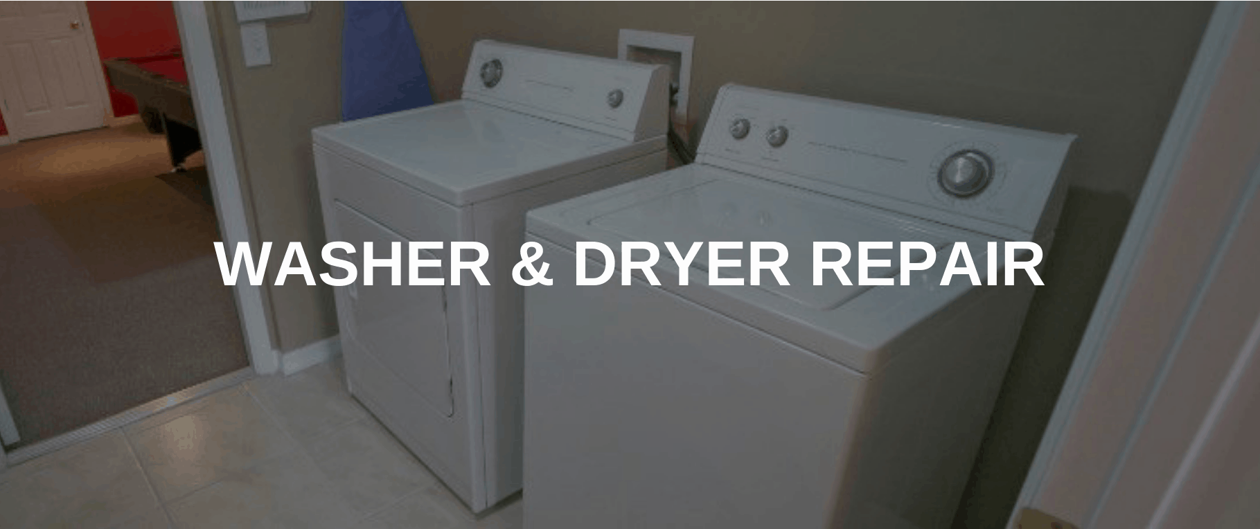 washing machine repair reston